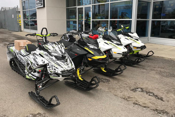 The best pre-owned snowmobiles in Northern Quebec