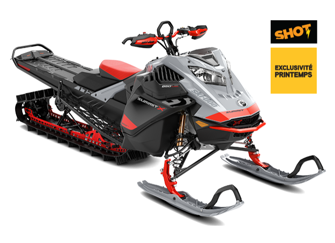 Ski-Doo SUMMIT X AVEC ENSEMBLE EXPERT ROTAX 850 E-TEC 2021