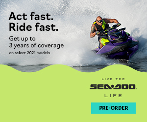 Book your 2021 Sea-Doo now