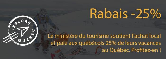 Rabais -25 %