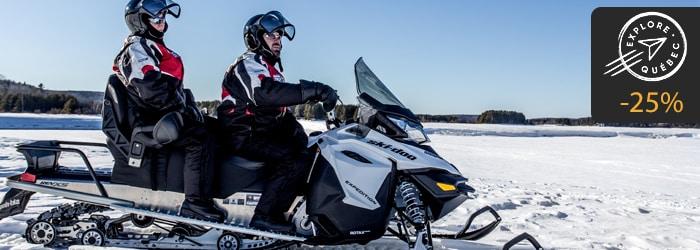 ARF Explore Quebec motoneige