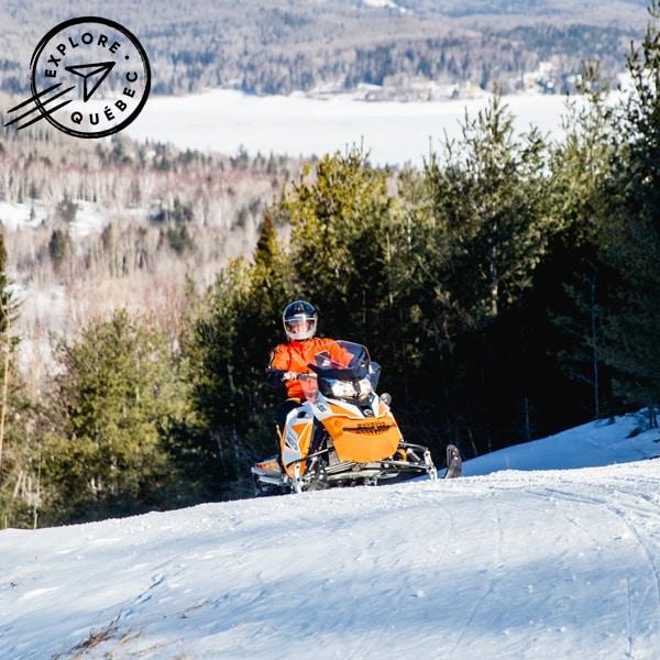 Expedition en motoneige