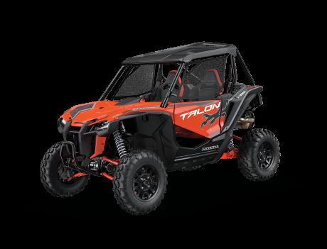 Honda Talon Orange tangelo nacré / Gris mat métallique 2021